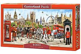 """Пазлы """"Гордость Лондона"""" , 4000 элементов (архетектура, достопремичательность, лондон, фнглия, бигбен)"""