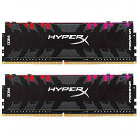 Модуль памяти для компьютера DDR4 32GB (2x16GB) 3200 MHz HyperX Predator RGB Kingston (HX432C16PB3AK2/32)