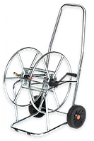 Тележка для шланга, 3/4′′ 80м, SOLID ZINC-CHROM, AG3318 Bradas более 30 на рынке ЕС