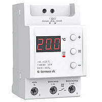 Терморегулятор Terneo rk 32А для электрических котлов