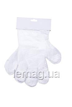Перчатки одноразовые, 100 шт.