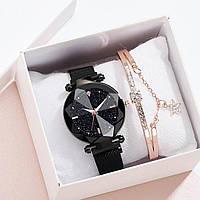 Женский наручные часы + браслет в подарочной упаковке!/ Жіночий годинник/ Часы с цепочкой/ Ремешок/ ГАРАНТИЯ !