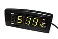 Настільні годинники Caixing CX 818 Зелені FC, фото 3