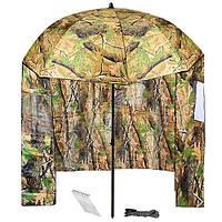 """Зонт палатка для рыбака 2окна ПВХ """"Дубок"""" d2.2м"""