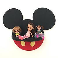 """Полиця для іграшок з серії Міккі маус """"mickey mouse"""""""