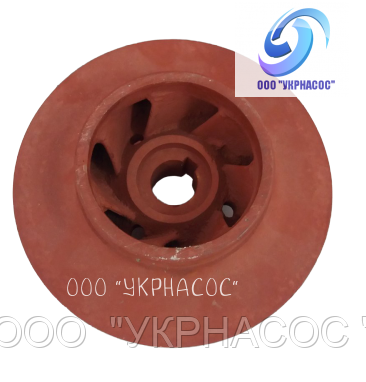Рабочее колесо насоса КМ 80-65-160 запчасти насоса КМ 80-65-160