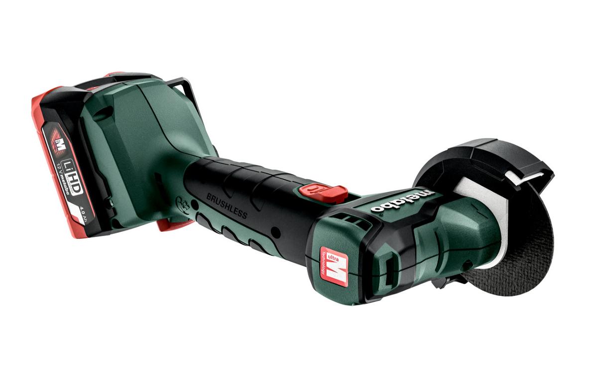 Аккумуляторная угловая шлифовальная машина Metabo POWERMAXX CC 12 BL (600348800)
