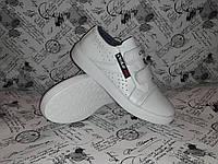 REEBOK CROSAV подростковые детские кожаные кеды кроссовки 34 размер