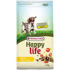 Сухой корм Happy Life Adult with Chicken для взрослых собак с курицей 15 кг