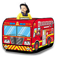Палатка игровая детская пожарная машина Bambi M 3716