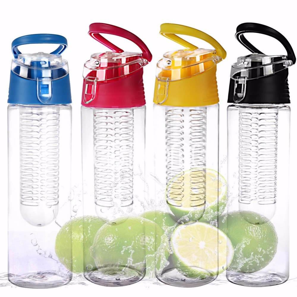 Бутылка Fruit Juice (Tritan Plastic) с ручкой