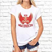 Футболка женская с принтом. Печать на футболке