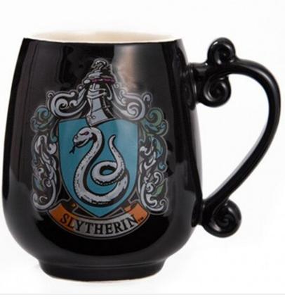Кружка фигурная Гарри Поттер Слизерин чашка ABC, фото 2
