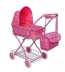 Игрушечная коляска для куклы металлическая, 9325(HT)