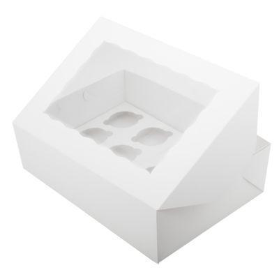 Коробка для кексов ( на 12 шт.) , белая