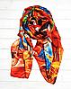 Шовковий шарф Fashion Фарби 190*100 см помаранчевий