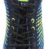Шнурки для обуви с узелками эластичные с металлическими фиксаторами концов шнурка 2Life Черный (n-503), фото 5
