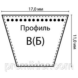 Ремень В(Б) профиль