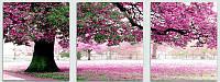 Картина по номерам Babylon MS14028 Весенний цвет Триптих 50х150см рисование по  номерам Триптихи