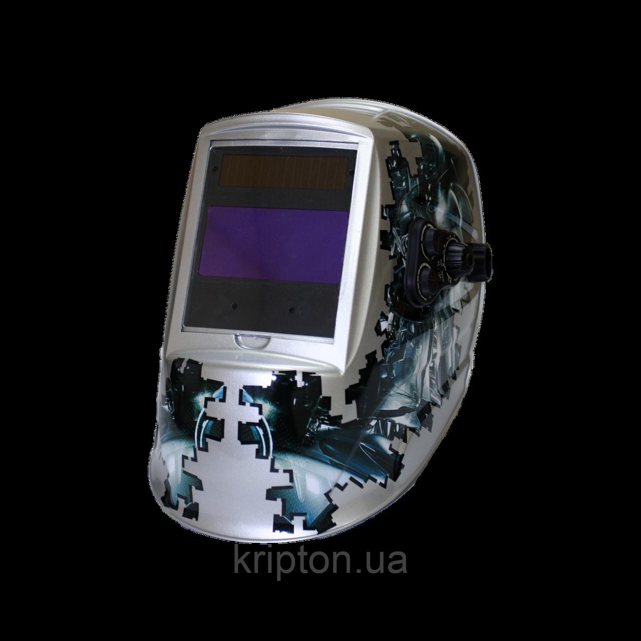 """Сварочная маска MegaTec """"КОМАНДОР"""" 423R (steel)"""