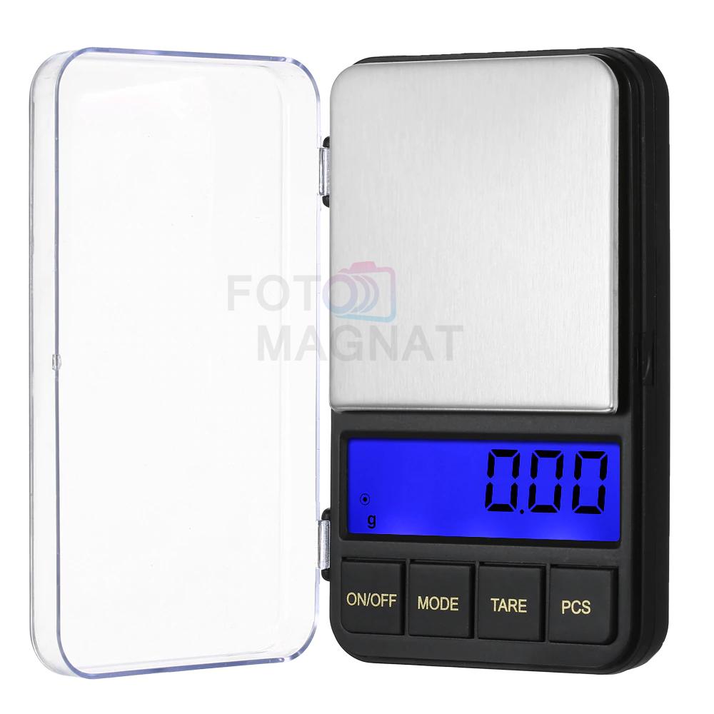 Весы Ювелирные 6285PA, 500 г (0.1) + 1 чаша — Электронные весы