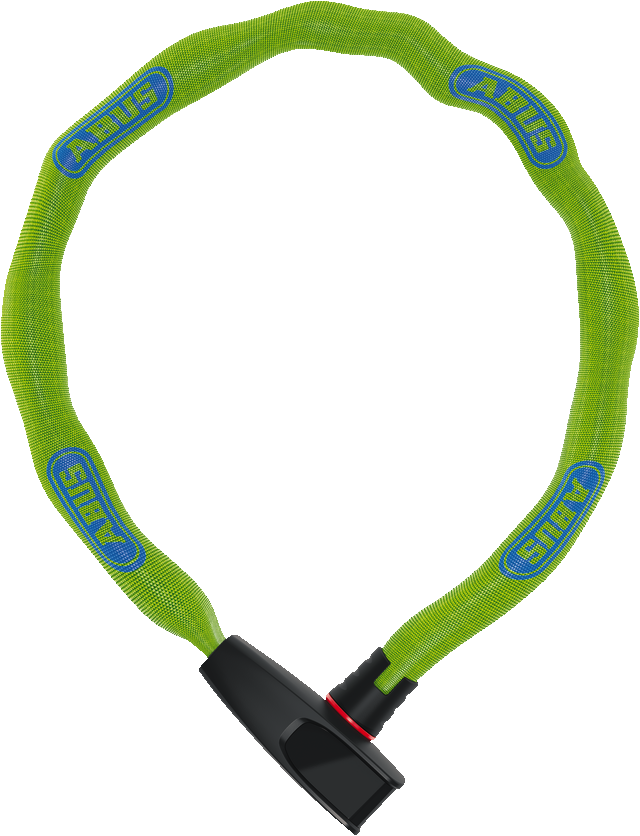 Замок цепь ABUS 6806K/75 Catena Neon Green