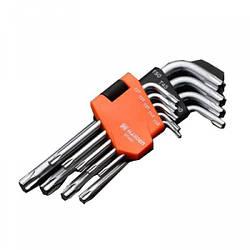 Набор шестигранников Torx 9 ед. Harden Tools 540601