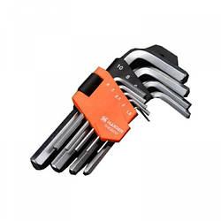 Набор шестигранных ключей Hex 9 ед. Harden Tools 540602