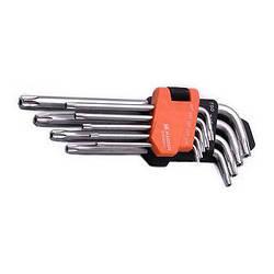 Комплект шестигранников длинных Torx 9 ед. Harden Tools 540604