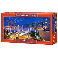 """Пазлы Castorland 600 """"Сингапур"""", В-060139"""