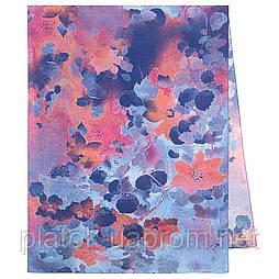 Палантин из вискозы 10724-13, павлопосадский палантин из вискозы, размер 80х200