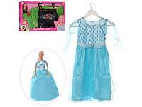 Кукла DEFA 29см, платье 83,5см для девочки (рост 120см), 8333