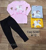 Набор 2 в 1 для девочек оптом, Seagull, 4-12 лет,  № CSQ-52461