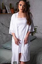 Комплект халат + ночная рубашка 50-52 размер