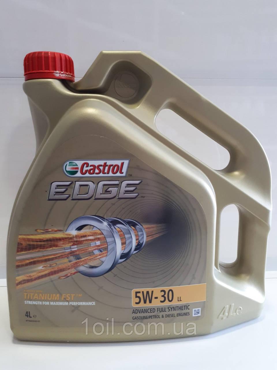 Масло моторное Castrol EDGE FST 5W-30 4L