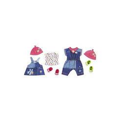 Набор одежды для куклы BABY BORN - МОДНЫЙ ДЖИНС, 2 в ассортименте. 824498