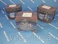 Накладки тормозные с заклепками BPW SAF FRUEHAUF KASSBOHRER 420x180 стандарт 3057391200 19032VWA