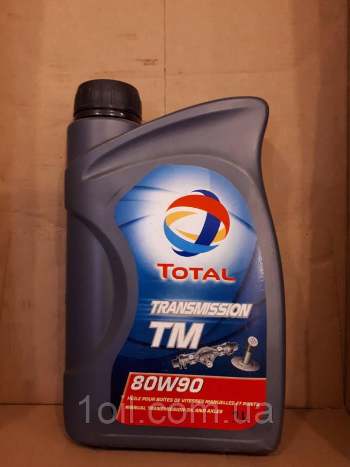Масло трансмиссионное TOTAL Trans TM 80w90 GL-5 1l