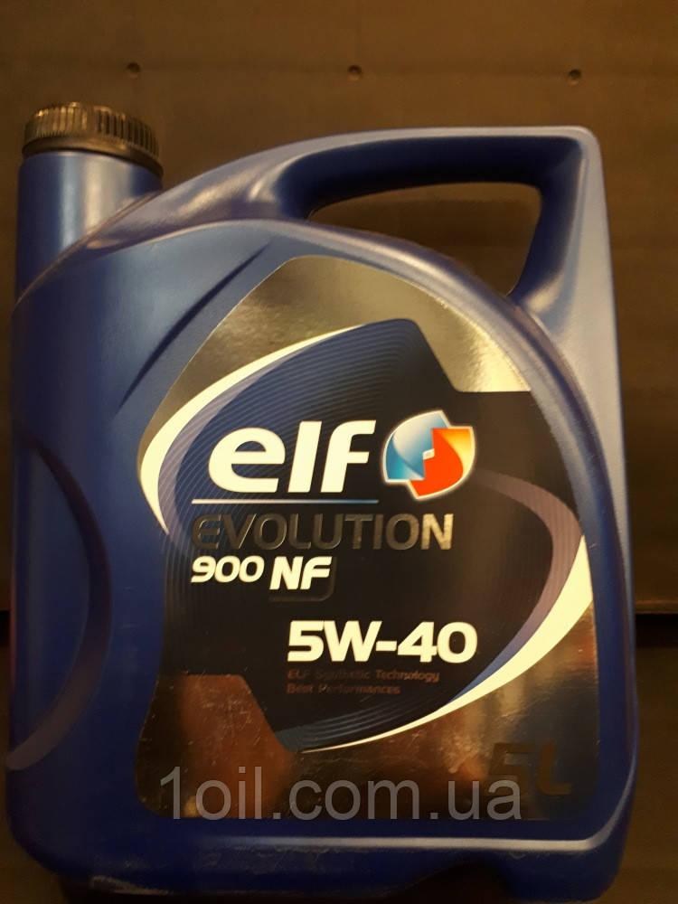 Масло моторне ELF Evolution 900 NF 5W-40 5L