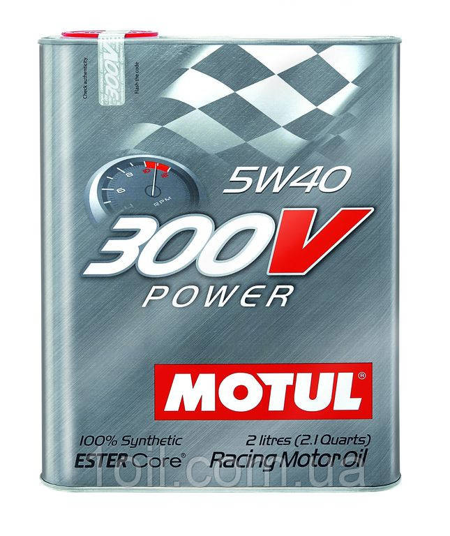 Масло моторное MOTUL 300V Power 5W-40 2L