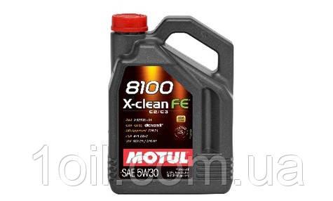 Масло моторное MOTUL 8100 X-clean FE 5W-30 4L