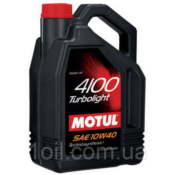 Масло моторное MOTUL 4100 Turbolight 10W-40 4L