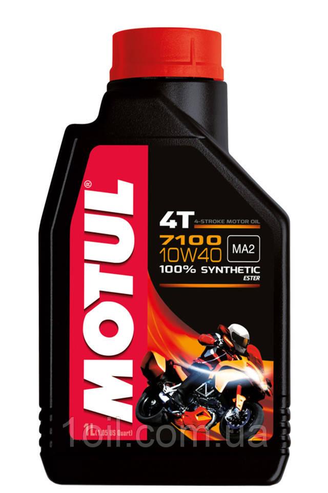 Масло моторное MOTUL 7100 4T 10W-40 1L