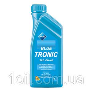 Масло моторное ARAL Blue Tronic 10w40 1L