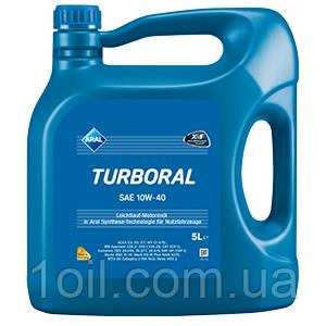 Масло моторное ARAL Turboral  10w40 5L