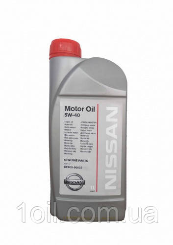 Масло моторное NISSAN Motor oil 5W-40 1л