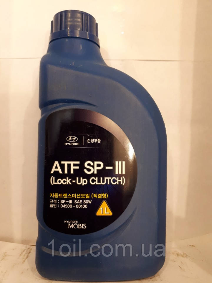 Жидкость для АКПП Hyundai Kia Mobis ATF SP III  1л