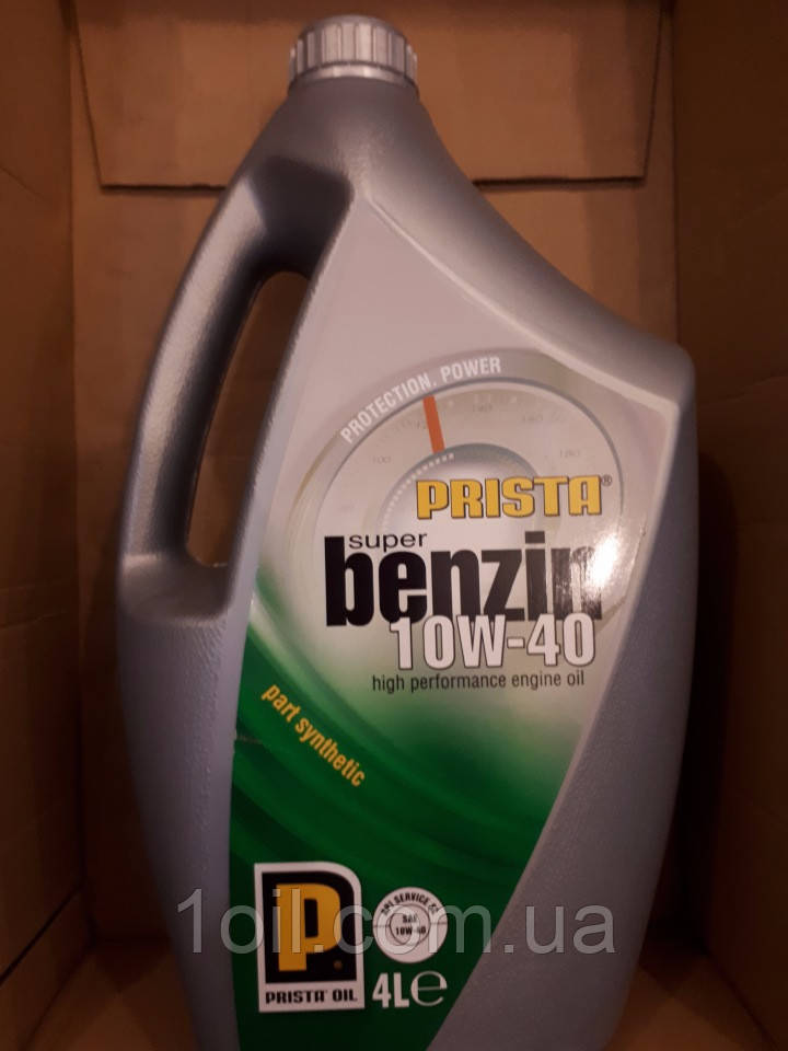 Масло моторное PRISTA SUPER BENZIN 10W-40 SL/CF 4L