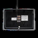 Кольоровий AHD відеодомофон Green Vision GV-054-AHD-J-VD7SD silver, фото 4