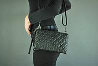 Женская кожаная сумка cross-body Buono (08-10975 black)